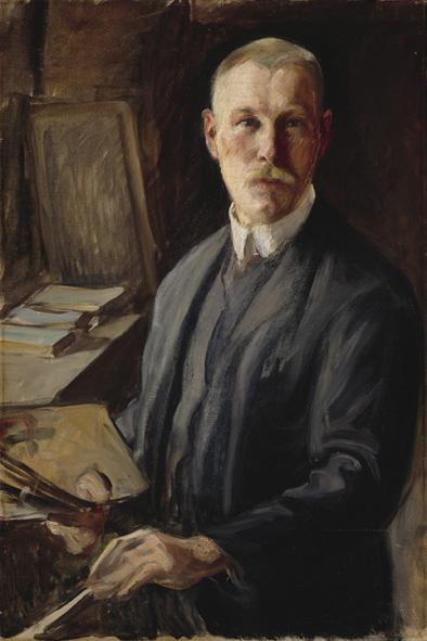 Pekka Halonen, Omakuva 1890-l. Halosenniemen museo